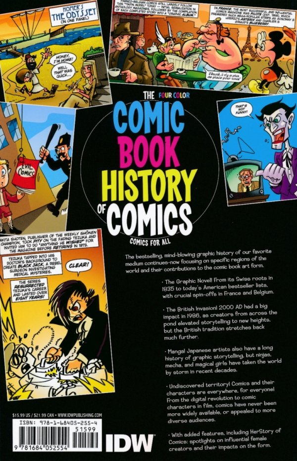 COMIC BOOK HISTORY OF COMICS TP COMICS FOR ALL