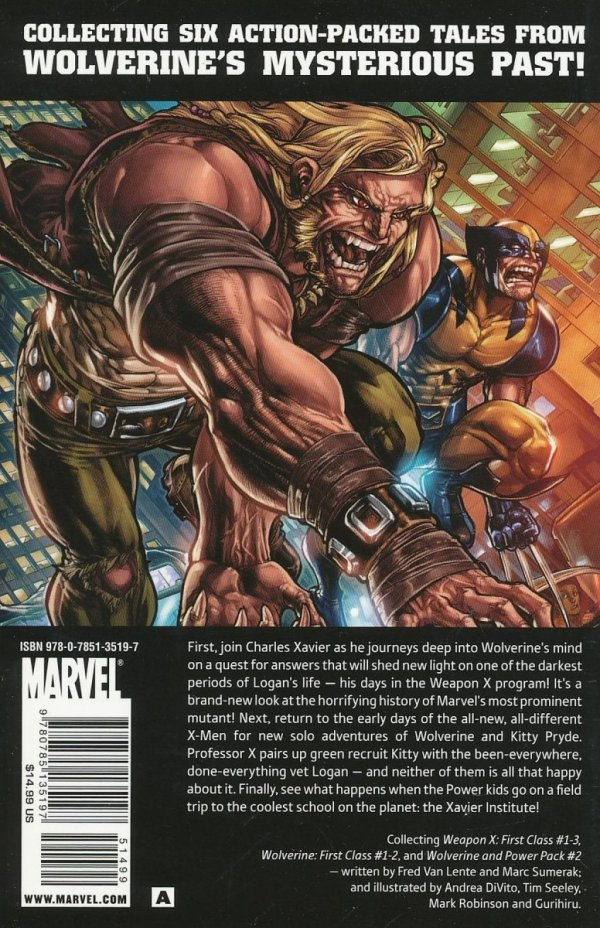 WOLVERINE TALES OF WEAPON X TP GN