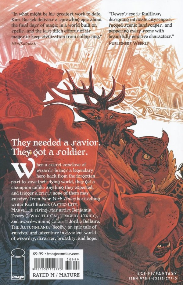 AUTUMNLANDS VOL 01 TOOTH AND CLAW SC (OLD EDITION)