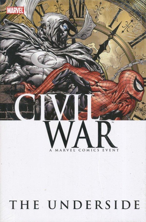 CIVIL WAR UNDERSIDE HC **