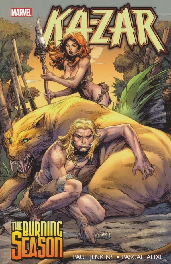 KA-ZAR THE BURNING SEASON SC