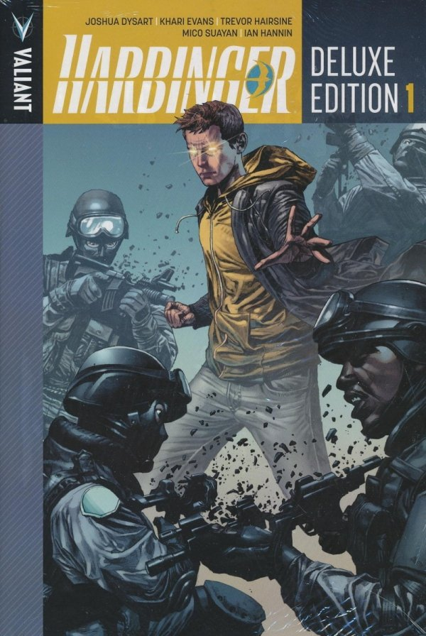 HARBINGER DELUXE EDITION VOL 01 HC