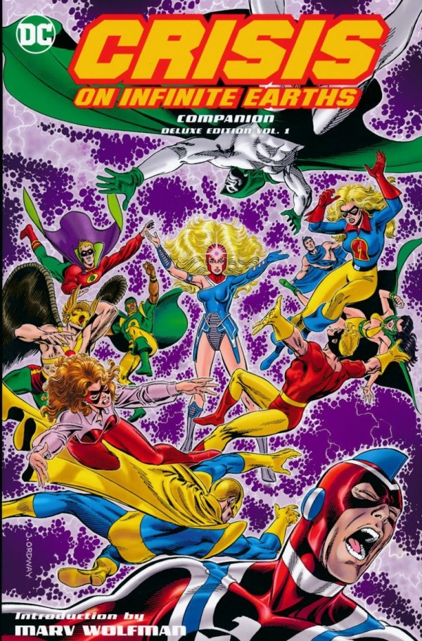CRISIS ON INFINITE EARTHS COMPANION DELUXE EDITION VOL 01 HC