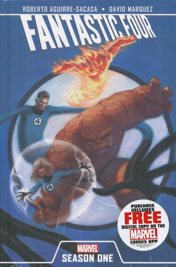 FANTASTIC FOUR SEASON ONE PREM HC WITH FR DIG CDE