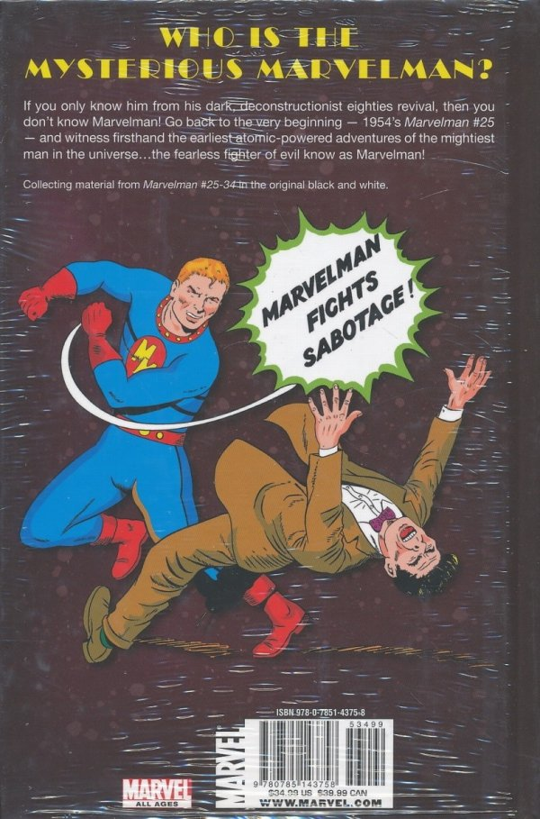 MARVELMAN CLASSIC VOL 01 HC (STANDARD COVER)