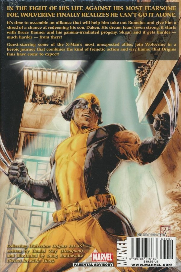 WOLVERINE ORIGINS PREM HC SEVEN HARD WAY