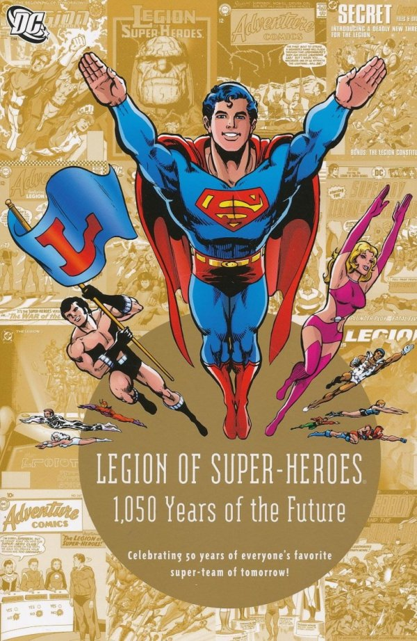 LEGION OF SUPER-HEROES 1050 YEARS OF THE FUTURE SC