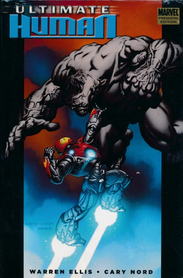ULTIMATE HULK VS IRON MAN PREM HC ULTIMATE HUMAN
