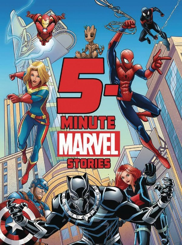 5 MINUTE MARVEL STORIES HC *