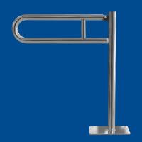 Uchwyt Uchylny WC dla Niepełnosprawnych wolnostojący 85cm stal nierdzewna fi32