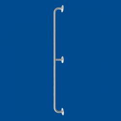Uchwyt Prosty dla Niepełnosprawnych 120 cm biały fi25