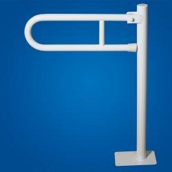 Pochwyt Podnoszony WC wolnostojący 50cm biały fi32 dla niepełnosprawnych