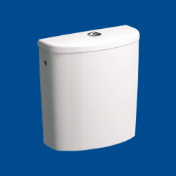 WC spłuczka owalna do kompaktu dla osób niepełnosprawnych