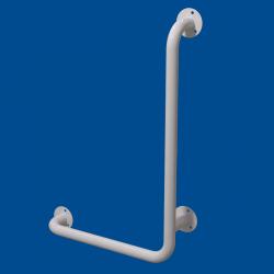 Uchwyt Kątowy dla Niepełnosprawnych prawy 100/60cm biały fi32