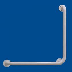 Uchwyt Kątowy dla Niepełnosprawnych 50/50cm biały fi32