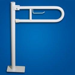 Uchwyt Uchylny WC wolnostojący 70cm PAPier fi32  dla niepełnosprawnych