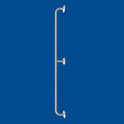 Uchwyt Prosty dla Niepełnosprawnych 140 cm biały fi25