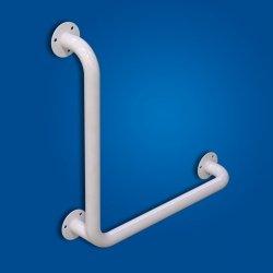 Uchwyt Kątowy 50/50cm biały fi32 dla niepełnosprawnych
