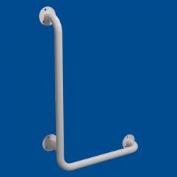 Uchwyt Kątowy dla Niepełnosprawnych lewy 80/60cm biały fi32