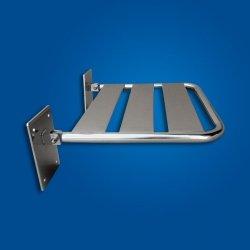 Krzesełko Prysznicowe Uchylne (2) stal nierdzewna fi25