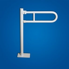 Uchwyt Uchylny WC wolnostojący 70cm biały fi32