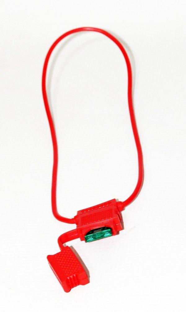 Bezpiecznik 30A do roweru elektrycznego wtyk