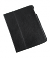 Etui dedykowane do Apple iPad 2 skóra czarne naturalna