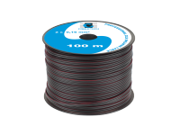 Kabel głośnikowy CCA 0.16mm czarny