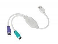Kabel USB - PS2  INTEX