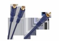 Kabel 1 x RCA wtyk - 2 gniazda RCA 0.2m