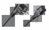 Kabel zasilający sieciowy do komputera 1.5m