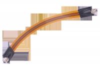 Kabel gniazdo F-gniazdo F okienny HQ