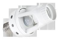 Gniazdo żarówki z sensorem ruchu- 360 stopni