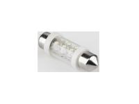 Żarówka samochodowa  LED 12V 10*36-6LED Sv8,5 biała