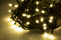 Lampki choinkowe 10 m, wewnętrzne, ciepłe białe, 230 V