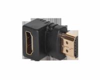 Złącze  kątowe HDMI gniazdo-wtyk