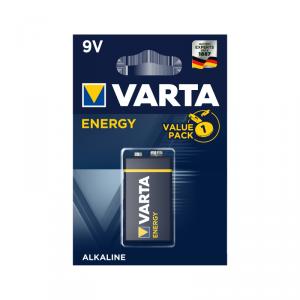 Bateria alkaliczna VARTA 9V ENERGY 1szt./bl.