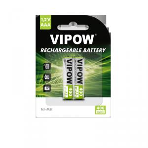 Akumulatorki VIPOW R03 400 mAh Ni-MH 2szt/bl