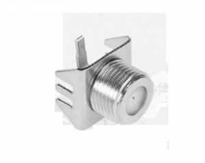 Gniazdo F montażowe Cabletech
