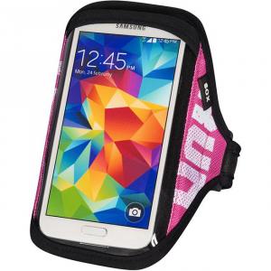 SOX opaska sportowa na smartfon RUN AWAY L/XL 30-40cm różowa
