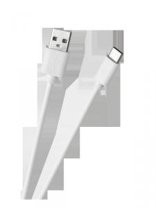 Kabel USB - USB typu C 1m Biały