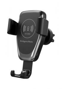 Uchwyt samochodowy Kruger&Matz z funkcją ładowania indukcyjnego