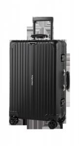 Średnia walizka aluminiowa na kółkach Kruger&Matz czarna