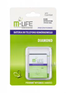 Bateria M-Life EBL1P3DVU do Samsung Galaxy ACE Plus S7500 S6500