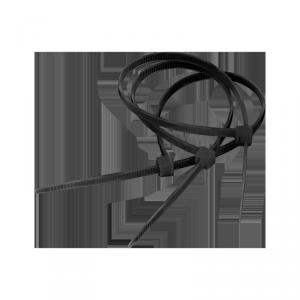 Opaska zaciskowa 9,0 mm/75 cm czarna Cabletech 10szt.