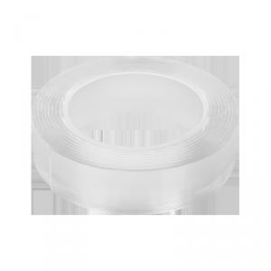 Dwustronna taśma montażowa nano wielokrotnego użytku REBEL (2 mm x 30 mm x 3 m) transparentna