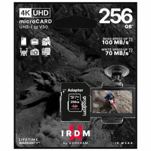 Karta pamięci microSD 256 GB UHS-I U3 Goodram z adapterem