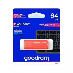Pendrive Goodram USB 3.0 64GB pomarańczowy