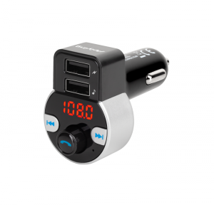 Transmiter samochodowy z funkcją  bluetooth (2 gniazda USB)