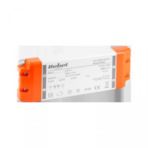 Zasilacz REBEL do sznurów diodowych LED 12V 4A (YSL60-1204000)  48Watt max.